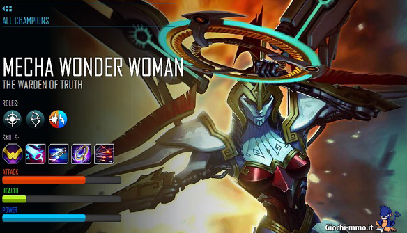 Mecha Wonder Woman