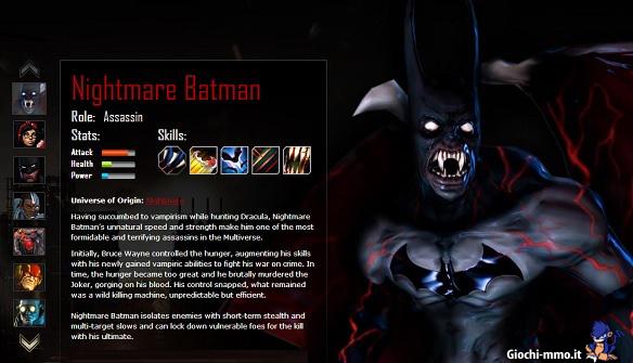 Nightmare Batman infinite crisis