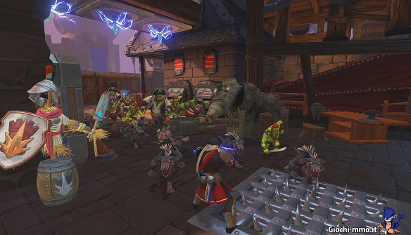 Orde di nemici Orcs Must Die Unchained