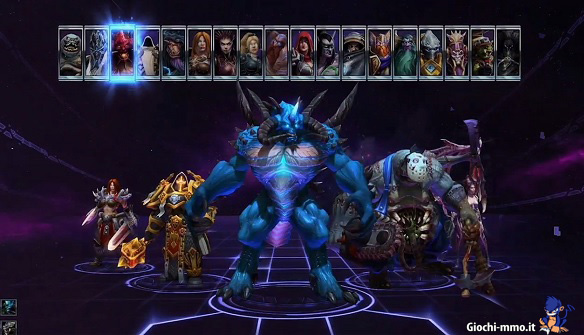Personaggi Heroes of the Storm