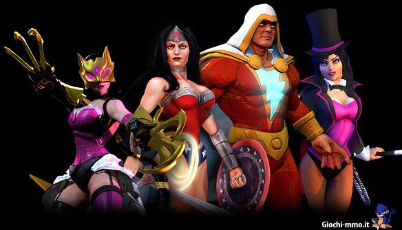 Personaggi Infinite crisis