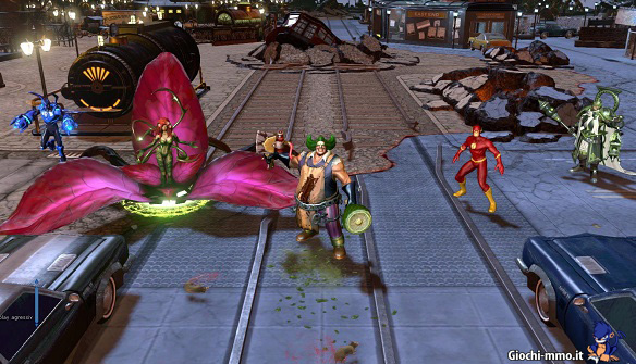 Personaggi team Infinite Crisis