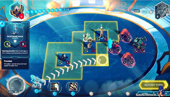 Unità gameplay Duelyst