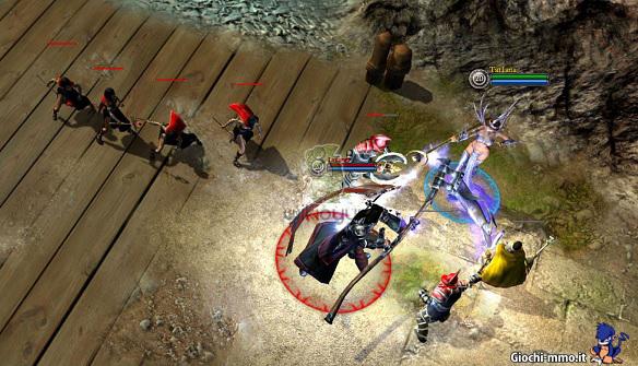battle for graxia combattimento