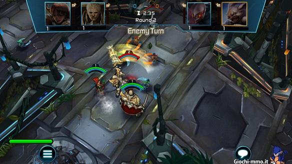 combattimento Arena of Heroes