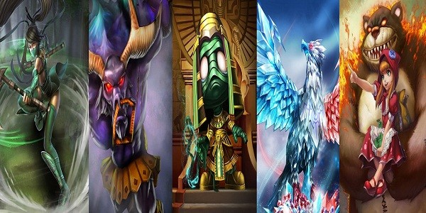 I personaggi di League of Legends: Akali, Alistar, Amumu, Anivia, Annie