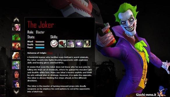 joker infinite crisis