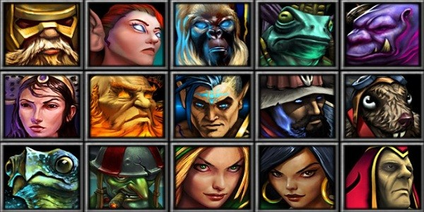 "I personaggi ""Legion Intelligence"" di Heroes of Newerth"