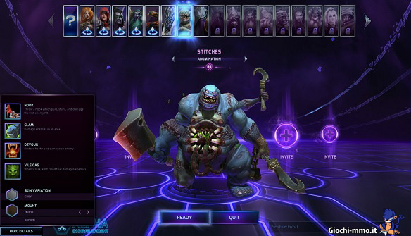 rotazione personaggi Heroes of the Storm