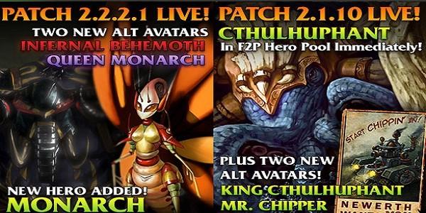 I 4 nuovi personaggi di Heroes of Newerth