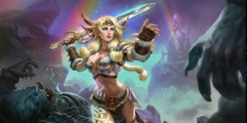 Hand of the Gods: SMITE Tactics disponibile su Steam
