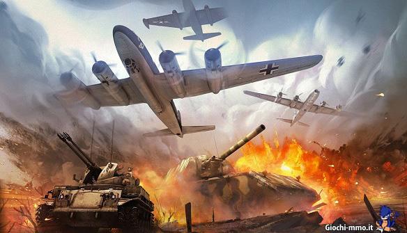 Aerei e carri armati War thunder