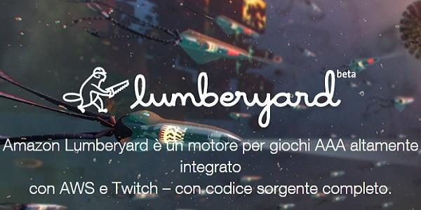 Amazon Lumberyard: motore grafico gratuito per sviluppare videogiochi
