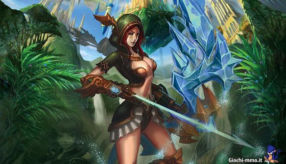 Arciere The Lost Titans