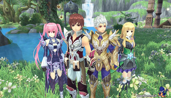 Aura Kingdom mmorpg