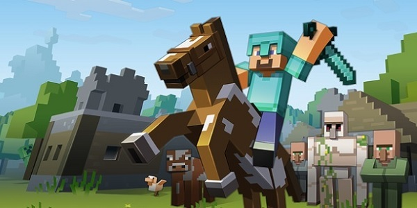 Cavaliere Minecraft