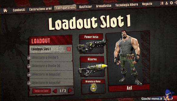 Configurazione-armi-Loadout