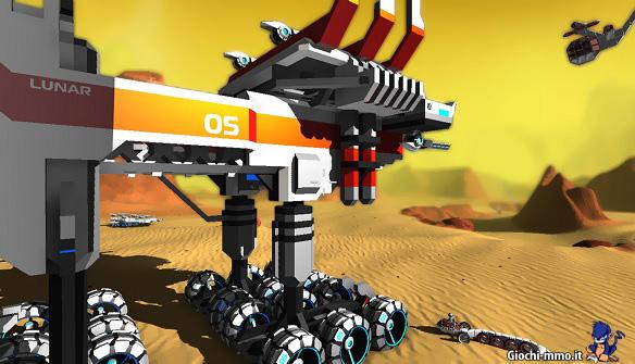 Enorme veicolo Robocraft