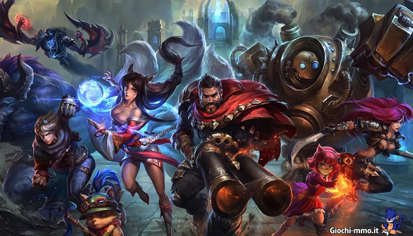 Personaggi eroi League of Legends