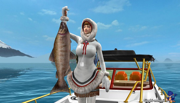 Pesce pescato Big Game Fishing