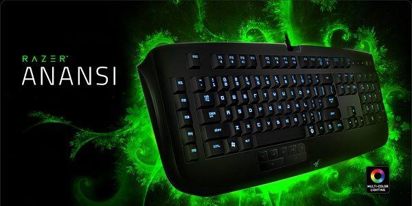 Razer Anansi: tastiera da gioco per appassionati di MMO