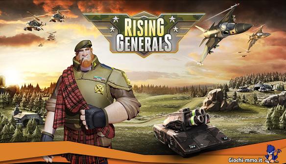 Rising Generals sfondo