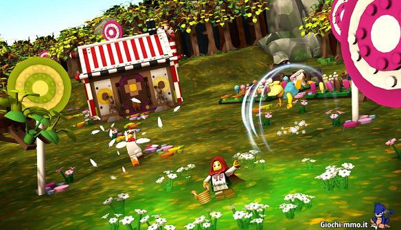 Scenario LEGO Minifigures Online