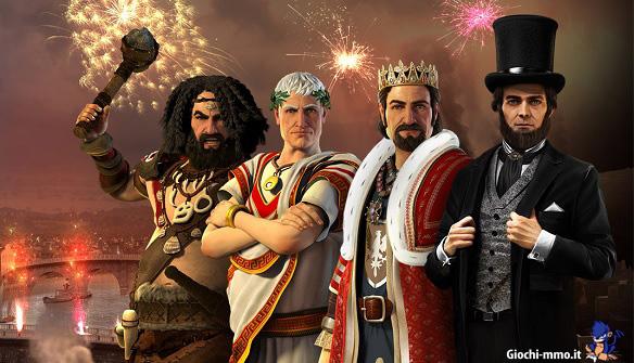 Sovrani in epoche diverse - Forge of Empires